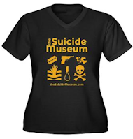 Suicide Museum wearables and swag at cafrepress.com/thesuicidemuseum